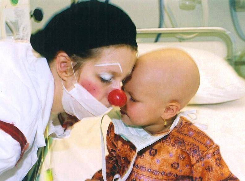 Camice bianco in oncologia pediatrica
