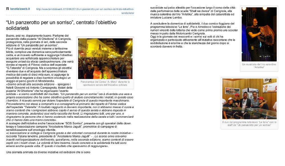 2012 La notizia web