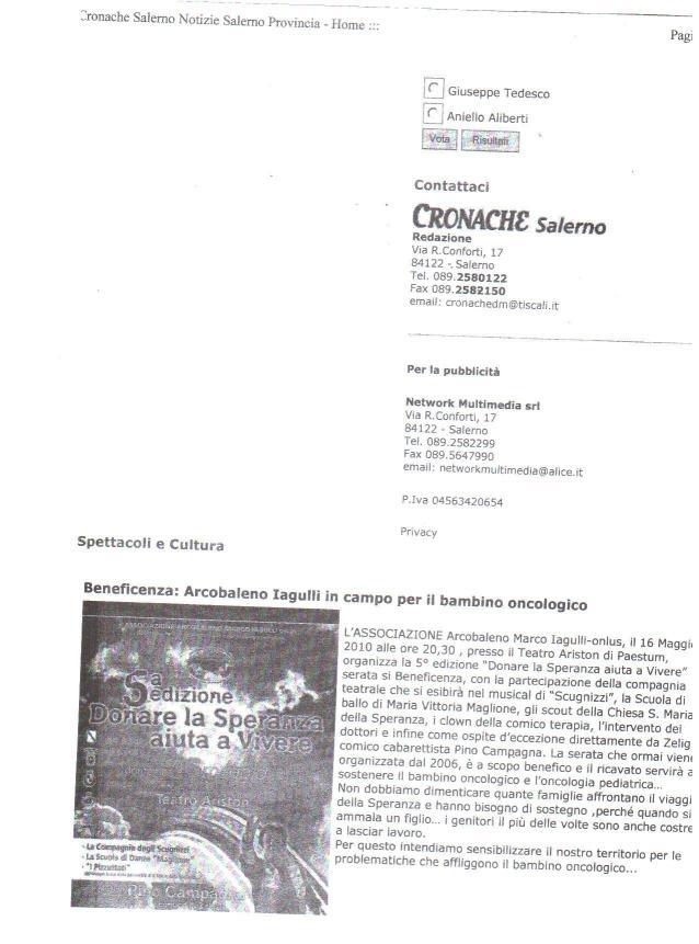 Cronache di Salerno 16_05_10