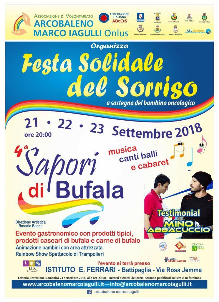 Festa Solidale del Sorriso Sapori di Bufala 2018